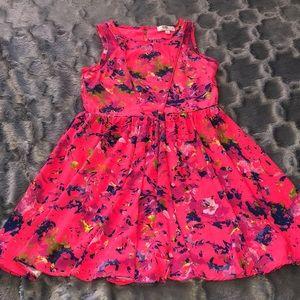 🔴 colorful girls dress size 8
